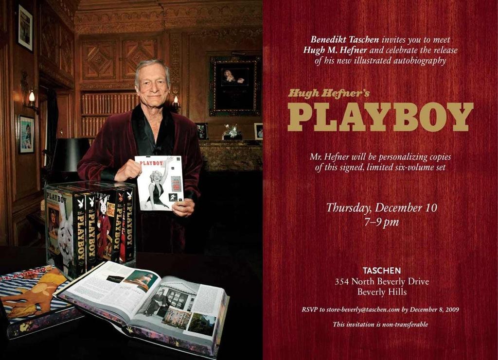 Playboy Evite