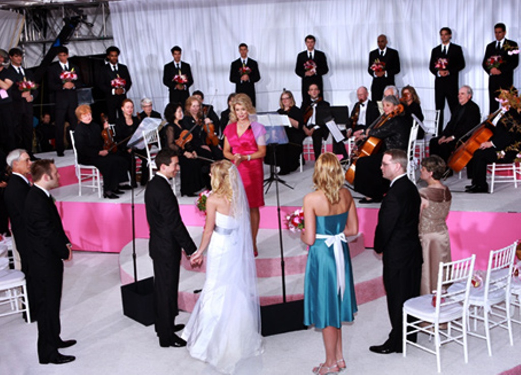 Maid of Honor Live Ceremony